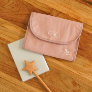 Mother and Child notebook case-Pink