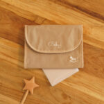 Mother and Child notebook case-Beige
